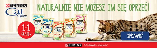 cat chow 1+1 gratis strona kategorii