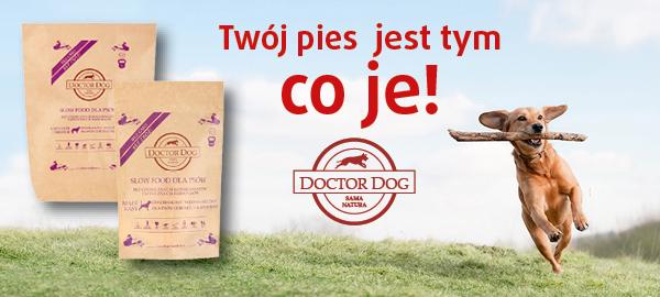 doctor dog karma z wołowina dla psa