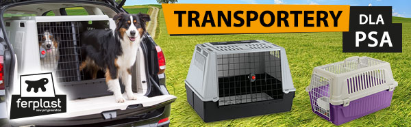 ferplast transportery / podkategoria transportery dla psa