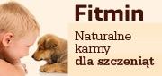 Fitmin karma dla szczeniat baner boczny