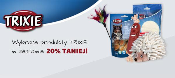Promocja 20% rabatu na produkty Trixie