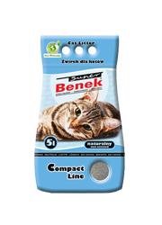 SUPER BENEK COMPACT - ŻWIREK BENTONITOWY DLA KOTA