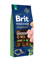 BRIT PREMIUM BY NATURE JUNIOR EXTRA LARGE KARMA DLA SZCZENIAKA