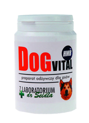 DR SEIDEL DOG VITAL PREPARAT Z HMB DLA PSA