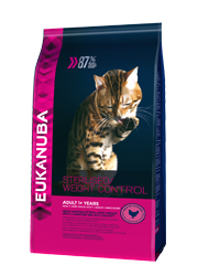 EUKANUBA CAT STERILISED / WEIGHT CONTROL KARMA DLA KOTA