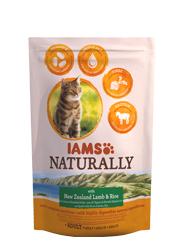 IAMS CAT NATURALLY KARMA DLA KOTA - z jagnięciną nowozelandzką i ryżem