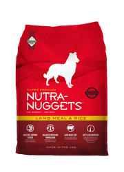 NUTRA NUGGETS ADULT LAMB & RICE