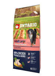 ONTARIO ADULT LARGE CHICKEN and POTATO KARMA DLA PSÓW RAS DUŻYCH