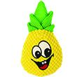 DINGO PLUSZOWA ZABAWKA DLA PSA ananas