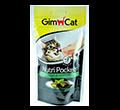 GIMCAT NUTRI POCKETS przysmak dla kota z witaminami i kocimętką dostępne do wyczerpania zapasów