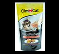 GIMCAT NUTRI POCKETS przysmak dla kota z łososiem