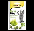 GIMCAT GRAS BITS pastylki z trawą dla kota