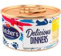 BUTCHERS CLASSIC DELICIOUS DINNERS KARMA DLA KOTA - z kurczakiem i indykiem