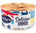 BUTCHERS CLASSIC DELICIOUS DINNERS KARMA DLA KOTA - z tuńczykiem i rybą morską