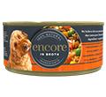 ENCORE DOG MOKRA KARMA DLA PSA pierś z kurczaka z wątróbką wołową i warzywami.