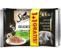SHEBA DELICACY DLA KOTA mix smaków w galaretce 1+1 gratis