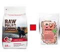 VET EXPERT RAW PALEO ADULT LARGE MONOPROTEIN KARMA DLA PSA wołowina 2,5kg+przysmak