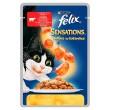 FELIX SENSATIONS KARMA DLA KOTA z wołowiną w w galaretce z pomidorami