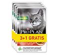PRO PLAN CAT NUTRISAVOUR STERILISED Z WOŁOWINĄ