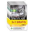 PRO PLAN CAT NUTRISAVOUR STERILISED Z KURCZAKIEM 3+1gratis