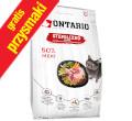 ONTARIO CAT STERILISED KARMA DLA KOTA STERYLIZOWANEGO - z jagnięciną