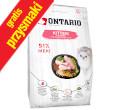 ONTARIO CAT KITTEN KARMA DLA KOCIĄT - z kurczakiem
