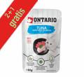 ONTARIO KARMA DLA KOTA saszetki z tuńczykiem w rosole 2+1gratis