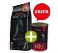 FITMIN DOG FOR LIFE ADULT BEEF/RICE 14kg+gratis
