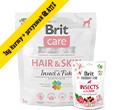 BRIT CARE HAIR / SKIN INSECT / FISH KARMA DLA PSA