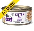 BRIT CARE CAT MOKRA KARMA DLA KOCIĄT filety z tuńczyka