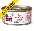 BRIT CARE CAT MOKRA KARMA DLA KOTA tuńczyk z kurczakiem i mlekiem