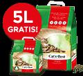 CATs BEST ORIGINAL ŻWIREK DLA KOTA 40l + 5l gratis 40l+5lgratis
