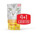 JOSERA CAT MOKRA KARMA DLA KOTA indyk z cukinią 4+1gratis