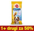 PEDIGREE DENTASTIX MEDIUM 180g promocja 1+1 za pół ceny 1+1za50%