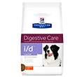 HILLS PRESCRIPTION DIET CANINE I/D DIGESTIVE CARE LOW FAT SUCHA KARMA DLA PSA