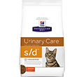 HILLS PRESCRIPTION DIET FELINE URINARY DISSOLUTION S/D SUCHA KARMA DLA KOTA