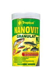TROPICAL NANOVIT GRANULAT POKARM DLA RYB