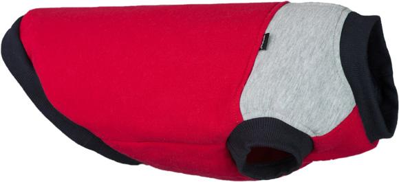 Ami Play Denver czerwono szara bluza dla psa