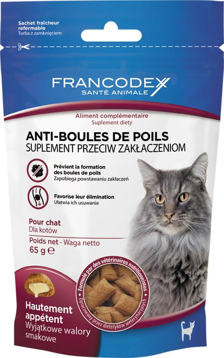 Francodex przysmaki odkłaczające dla kotów