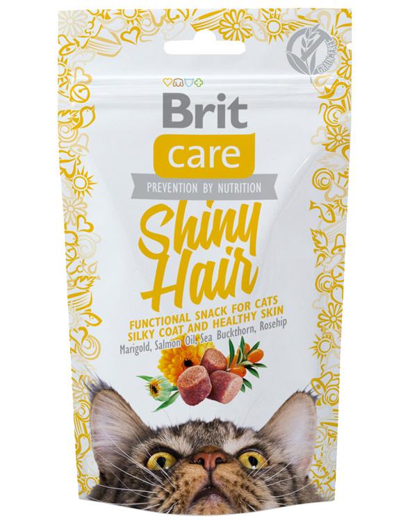8595602521388 brit care przysmaki na piękną sierść i zdrową skórę dla kota