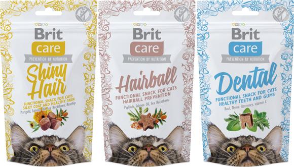 Brit Care Przysmaki funkcyjne dla kota