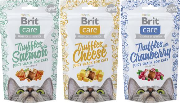 Brit Care Przysmaki truffles dla kota