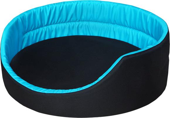 niebieskie legowisko dla psa