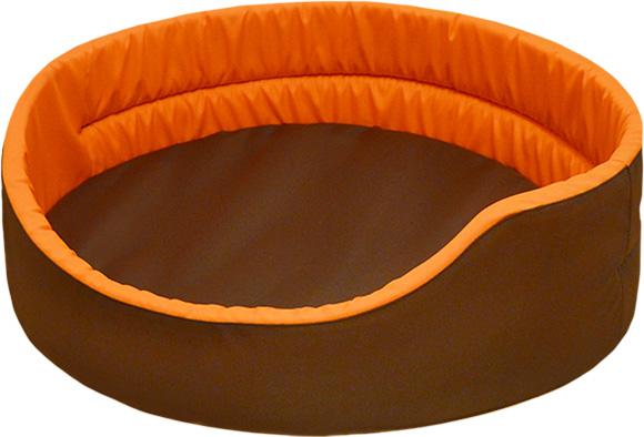 pomarańczowe legowisko dla psa