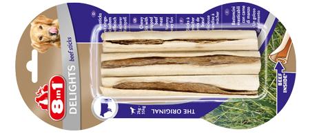 8in1 przysmaki dla psa, czyszczące zęby