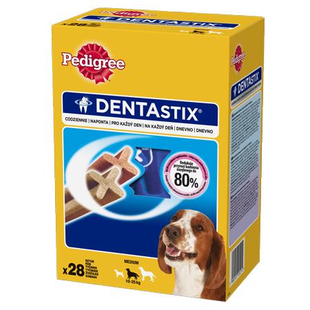 Pedigree dentastix przysmak dla psów ras średnich
