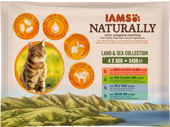 Iams Naturally mokra karma dla kotów