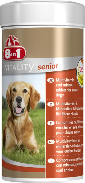 8in1 witaminy dla starszego psa
