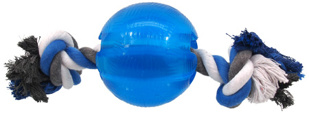 gumowa piłka dla psa