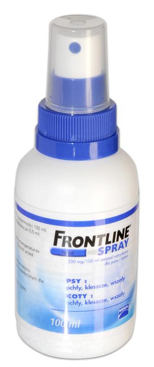 Frontline spray dla psów i kotów